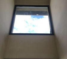 Plâtres de la cage d'escalier