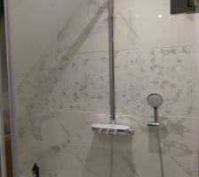 Douche salle d'eau terminée