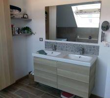 Salle de bain familiale terminée