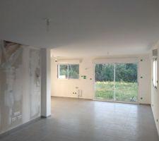 Peinture intérieure plafond du séjour