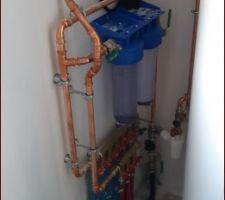 Installation plombier