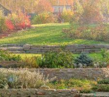 Idée pente jardin