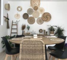 Voici une photo de ma salle à manger .