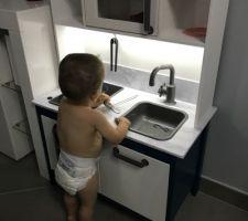 Modif cuisine enfant Ikea DUKTIG