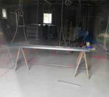 Début des travaux intérieurs avec l isolation et la pose du placo