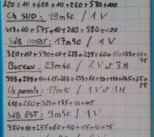 Notes longueurs de gaines VMC