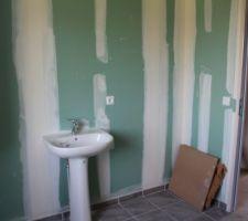 - Visite de pré-réception -  Salle de bain étage