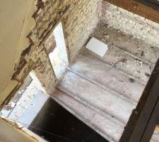 Trémie ancien Escalier