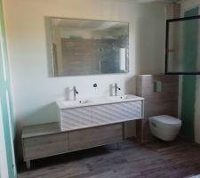 Le meuble double vasque