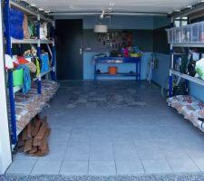 Garage terminé