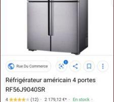 Reference frigo