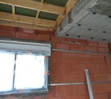 Les toitures en membrane, au dessus du garage, du salon et de la cuisine ne sont PAS étanches.