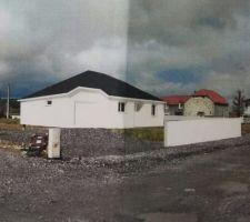Vue 3D du projet (modification fenêtre gauche )