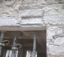 Linteau beton annee 70