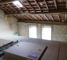 Mezzanine chambres