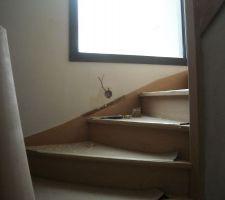 Balisage de l'escalier