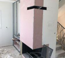 Installation de la cheminée (insert TOTEM étanche)