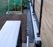 Bordure souple séparation pelouse