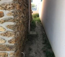 Couloir en terre