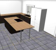 Rendu 3D cuisine 2