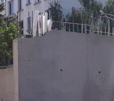 Les mur est biseauté, est-ce normal ?