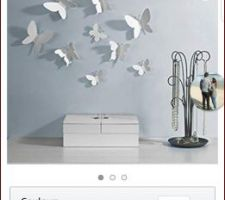 Idée décoration chambre Emy  Papillon muraux