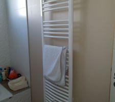 Sèche serviette dans la salle de bain des enfants