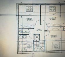 Plan intérieur étage