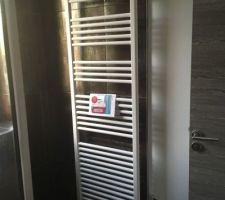 Seche serviette salle d'eau