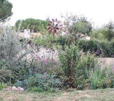 Le massif de l'olivier anciennement le massif de la cabane