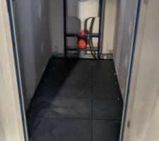 Carrelage WC et SDB