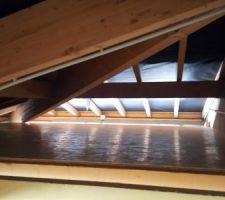 Mezzanine au dessus du garage