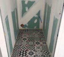 Carrelage wc etage