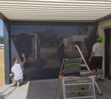 Installation du store en cours