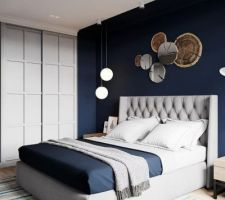 Inspiration chambre parentale avec alcove plafond.
