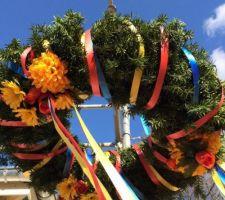Richtfest couronne colorée (un exemple)