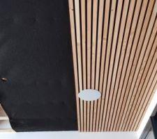 Plafond salle à manger