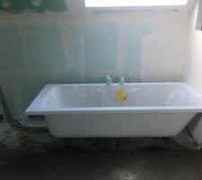 Ragréage - salle de bain