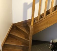 Escalier vitrifié