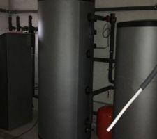 Pompe a chaleur alpha innotec installé