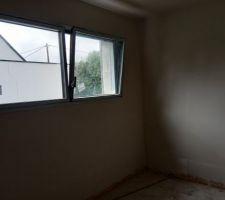 Plâtre traditionnel chambre rdc