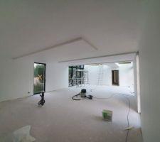Faux plafonds cuisine et salle à manger