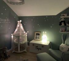 """Chambre de notre bébé - de nuit avec la veilleuse """"Miffy"""""""