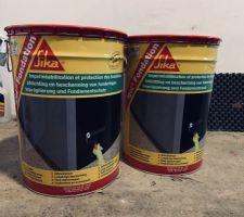 Premiers achats maison ! Enduit pour l?imperméabilisation du vide sanitaire.