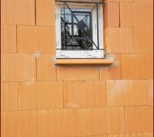 Fenêtre avec sa grille de défense