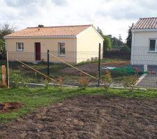 Quasi fin de la clôture