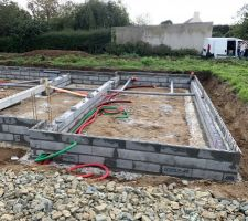 Construction du vide sanitaire