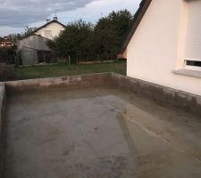 Acrotère garage