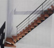 Escalier lapeyre sur-mesure