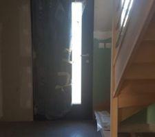 Escalier dans l'entrée